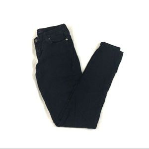 "Just USA ""Just Black"" Stretch Skinny Jeans"